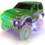 Lot de 2 voitures lumineuses