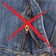 8 bandes auto-agrippantes textile