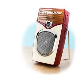 Radio portable rétro