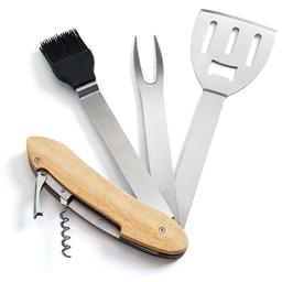 """Couteau suisse 6 en 1 """"BBQ"""""""