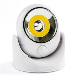 Lampe détecteur de mouvement cob noir ou blanc