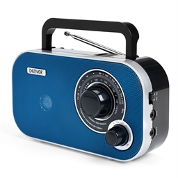 Radio tuning bleue