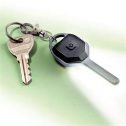 Porte-clés en forme de clé