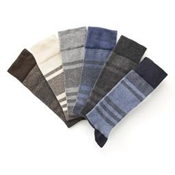 6 paires de chaussettes jacquard