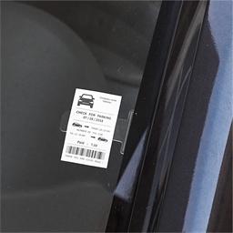 Range-tickets de parking ou lot de 2