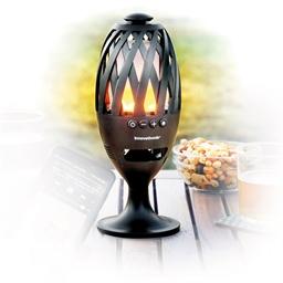 Torche LED haut-parleur