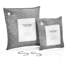 2 sacs purificateurs charbon actif