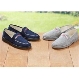 Lot de 2 paires de chaussures Gris + marine