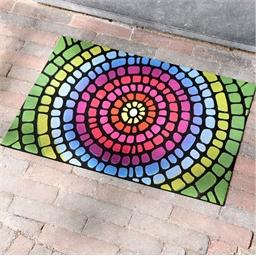 Tapis mosaïque 61 x 41 cm