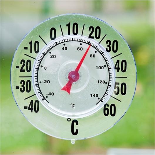Thermomètre extérieur géant